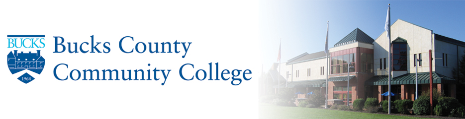 Bucks County Community College banner